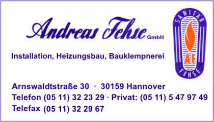 Fehse GmbH, Andreas